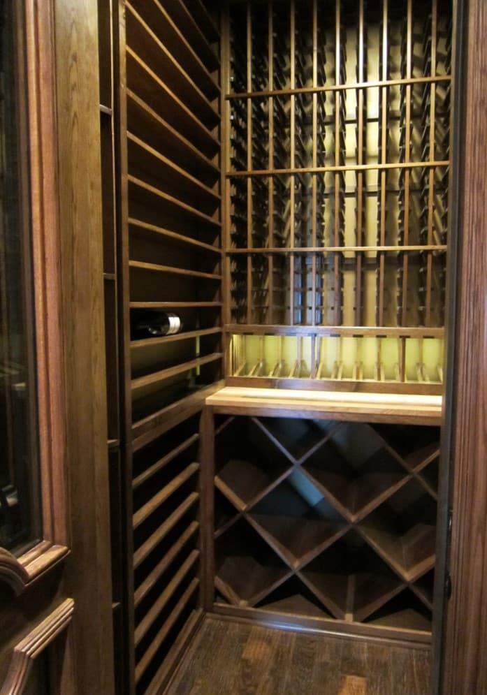 Designing & Building the Lyles Texas Custom Wine Cellar