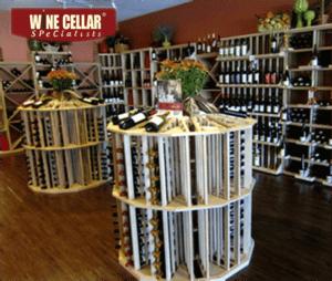 Dalla Texas Commercial Wine Cellar for a Wine Store