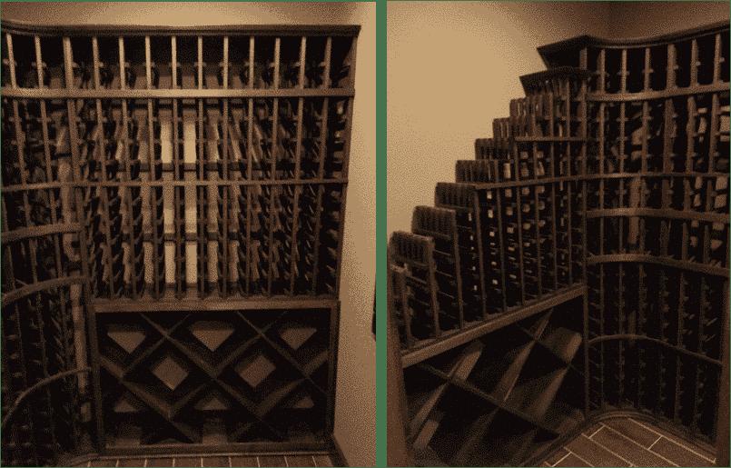 custom wine racks Philips wine cellar