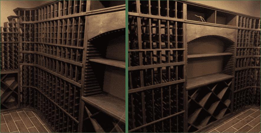 kit wine racks Philips wine cellar