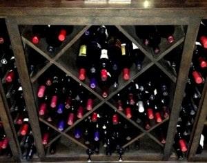 Double Deep Wine Racking