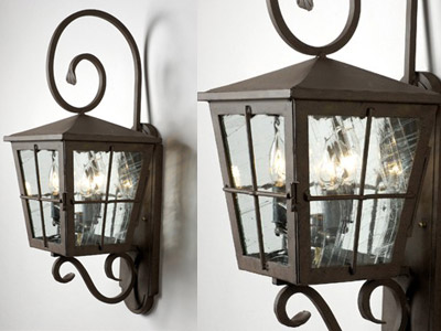 Beautiful Lighting Fixtures for Residential Wine Cellars in California