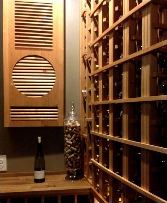 Trophy wine cellar refrigeration system