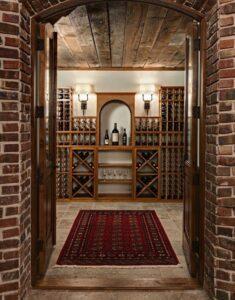 Texas Home Wine Cellar Storage