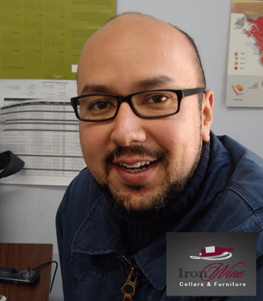 IronWine Cellars LLC San Diego California Luis Vasquez Founder L