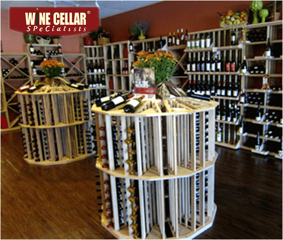 Dalla Texas Commercial Wine Cellar for a Wine Store