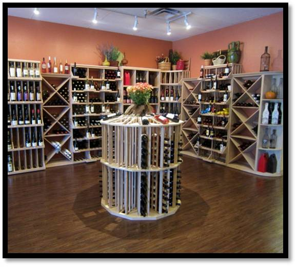 Wine Down wine cellar