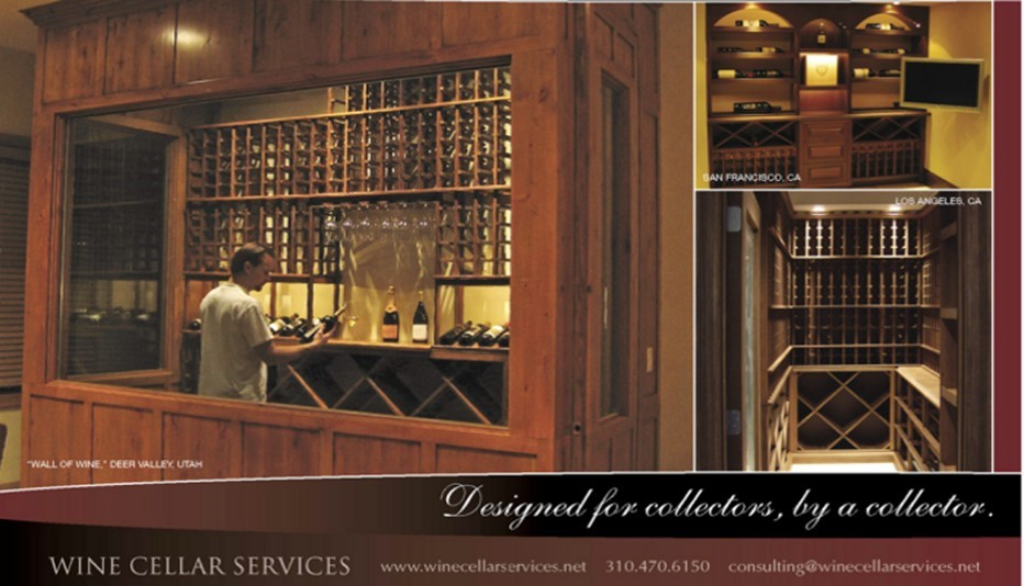 Wine Cellar Services Napa Sonoma California w