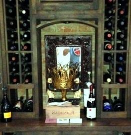 Residential Wine Room Yorba Linda CA Project