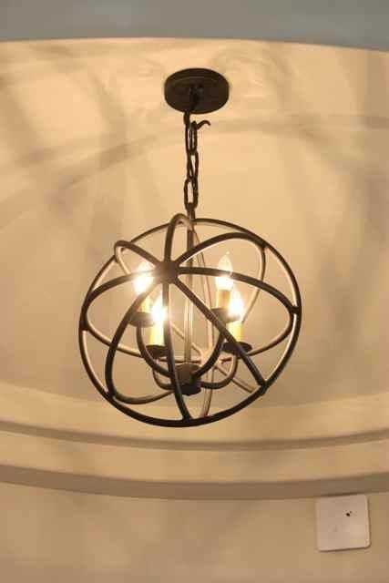 Beautiful and Unique Wine Cellar Lighting Fixtures in California by Iron Wine Cellars